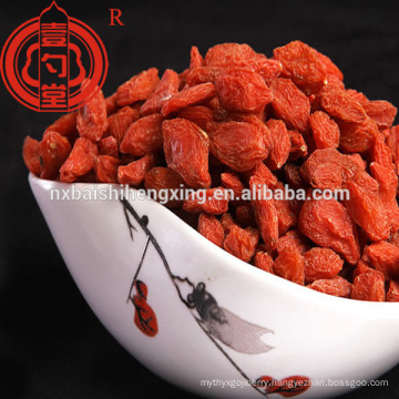 Goji berry in dried fruit goji berry krem