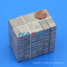 20X10X3mm alta calidad samarium-cobalto motores de imanes permanentes