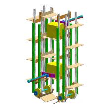 Vertical Lifting Conveyor, Continious Vertical Conveyor, Hoisting Elevator