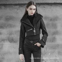 OPY-379 PUNK RAVE Handsome short collar coat with collar women short mink coat