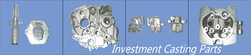 Steel investment casting machined component