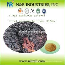 Экстракт чаги из грибов Общие полисахариды> 25% УФ (метод антрона - серной кислоты)