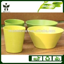Eco-Friendly Feature und Country-Stil Pflanze Faser Material Typ Geschirr