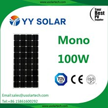Competitive Price Solar Panel 18V 100W 80W 85W for Solar Kit