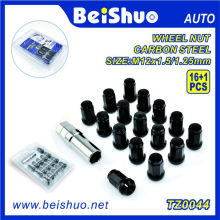16+1 PCS Wheel Lock Nut Set for Automobile Repacking