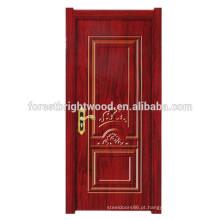 Porta moderna interior da placa da melamina do balanço das portas de entrada