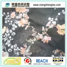 Polyester Koshibo bedrucktes Gewebe für Kleider
