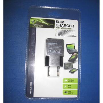 Горячее сбывание USB заряжатель блистерная упаковка EU Us Type и Travel USB Charger