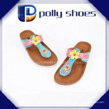 2016 Facny Damen-Kork-Sandale-Qualitäts-preiswerter Preis