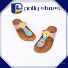 2016 Facny Ladies Cork Sandal High Quality Cheap Price