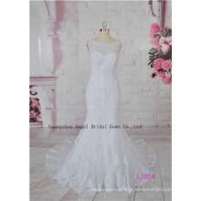 Vestido de noiva de alta qualidade francesa namorada extravagância renda de alta qualidade