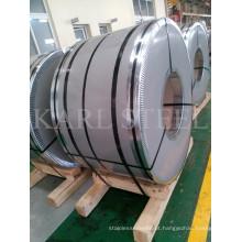 Bobina de aço inoxidável do cobre 201 parcialmente com revestimento 2b laminada