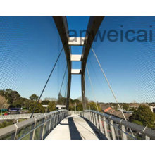 Stainless Steel Knotted Rope Mesh with Excellent Softness