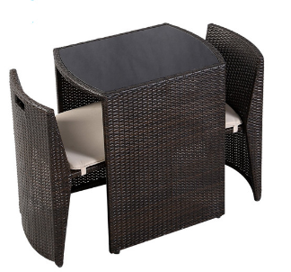 3pc rattan furniture set