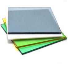 Tablero de plástico hoja sólida de policarbonato transparente