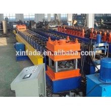 Highway guardrail beam roll forming machine