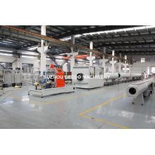 Línea de producción de tubería aislante térmica HDPE Línea de producción de tubería HDPE