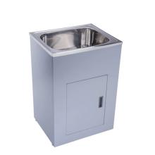 Cabinet for freestanding sink