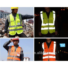 High Quality en20471 standard reflective vest, reflective cloting , reflective vest