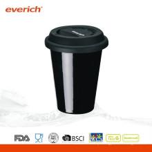 Caneca de café cerâmica feita sob encomenda feita sob encomenda de 250ml