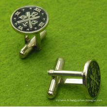 Conception personnalisée de coutellerie de Cufflink de montre