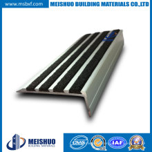Grit Surface Aluminum Step Anti Slip Nosings for Pedestrian Pathways (MSSNC-10)