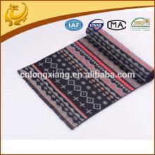 Nouvelle conception Haute qualité Factory ODM Vente en gros Echarpe en soie en jacquard brossé pour hommes