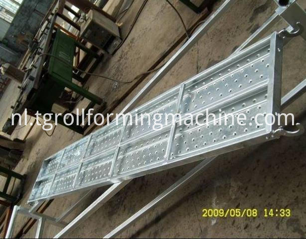 Automatic Steel Scaffolding Walk Panel Sheet Forming Machine