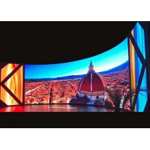 Uitstekend thermisch management Indoor Curved LED Display