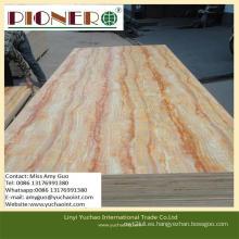 Tablero de madera maciza para decoración de interiores sin formaldehído
