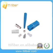 Connecteur fibre optique SC / UPC pour cordon de raccordement à fibre 0,9, 2,0,3,0 mm