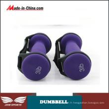 Exercices d'haltères ajustables d'équipement de conditionnement physique