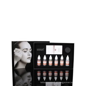 Goochie Maquiagem permanente Lip Elite Kit Tattoo Ink