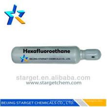 R116 refrigerant gas, Hexafluoroethane, C2F3