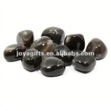 High Polished Gemstone river pebble stone door mat