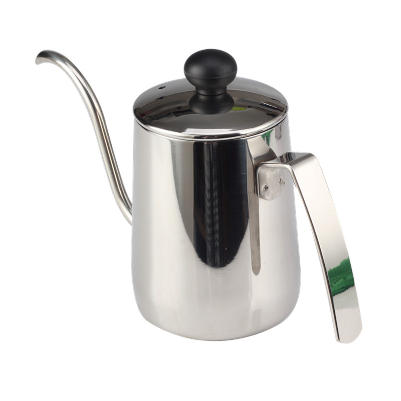 handle drip kettle with plastic lid knob