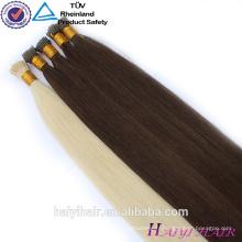 En gros Double Dessiné 1g Remy Russe Micro Perles Extensions de Cheveux