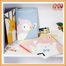 Großhandel koreanischen Briefpapier von niedlichen Notebook mit Cartoon-Cover