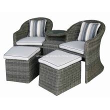 Outdoor Rattan Garden Wicker Patio Causal Arm Chair Set