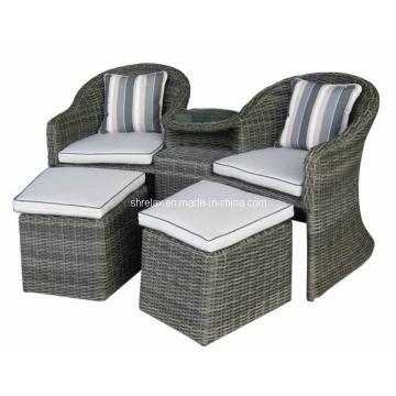 Rattan Garten Wicker Patiosatz kausale Arm Chair