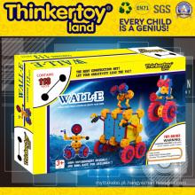 2015 venda quente engrenagem DIY Kids brinquedo blocos de construção
