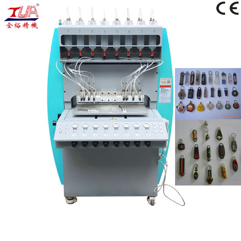 Silicone Zipper Puller Making Machine