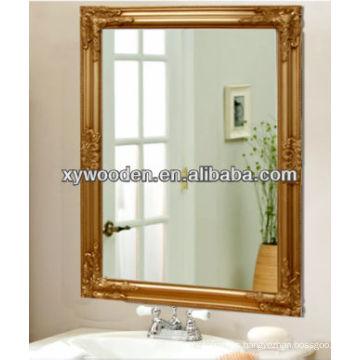 Antique Gold Ornate Framed Mirror