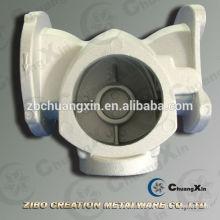 A356 Aluminium-Durchfluss-Pumpengehäuse mit Schwerkraftguss