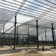 Stahlkonstruktion Werkstatt / Lager für Stahlwerkstoffe