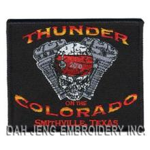 Embroidery Patch - Motorcycle Club - Bikers