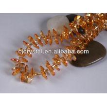 Perles creuses de graines de verre