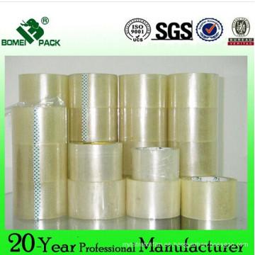Cartón sellado BOPP/OPP embalaje adhesiva 48mm
