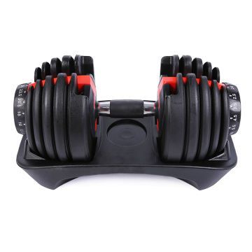 Free Weights Gym Equipiment Fitness Weight Lifting 20kg 32kg Adjustable Dumbbells Set