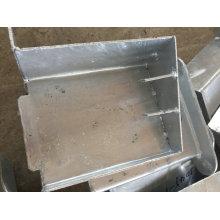 Piezas de construcción de metal OEM para escalera externa de construcción